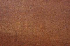 Wet wall rusty sheet of iron Stock Photos