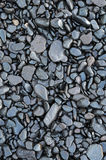 Wet waterworn pebbles Royalty Free Stock Image