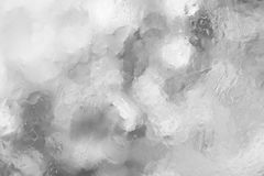 Wet white gray abstract background, drop water wallpaper Royalty Free Stock Images