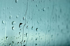 Wet Window Stock Photography