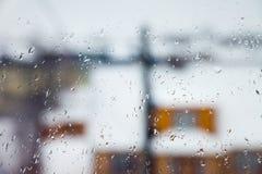 Wet Window Stock Photos
