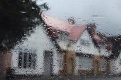 Wet window Stock Images