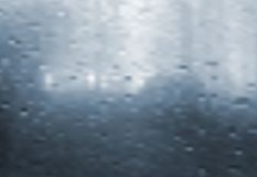 Wet window. Vector gradient mesh Stock Photo