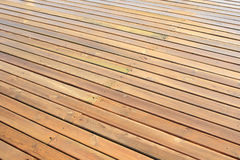 Wet wood planks Stock Photos