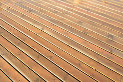 Wet wood planks Royalty Free Stock Photos