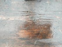 Wet wooden board. Glare on a wet table. Wet wooden board. Wood texture. Glare on a wet table royalty free illustration
