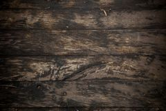 Wet wooden trail bridge walking way,close up of wood plank textu. Re, background Royalty Free Stock Photography
