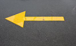 Arrow road Stock Photos