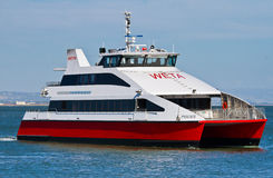 WETA Pisces ferry sailing in San Francisco bay Royalty Free Stock Photography