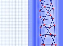 Wetenschap backround stock illustratie