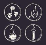 Wetenschap en chemieontwerp Royalty-vrije Stock Fotografie