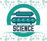 Wetenschap en chemieontwerp Royalty-vrije Stock Foto's