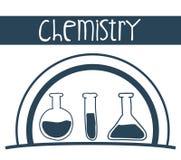 Wetenschap en chemieontwerp Royalty-vrije Stock Foto
