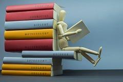 Wetenschap en lezingssamenvatting Stock Afbeelding