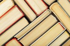 Wetenschap en onderwijs - fragmentgroep abstra van colorfullboeken Stock Foto