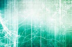Wetenschap en technologie Royalty-vrije Stock Afbeelding