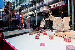 Wetenschap en Technologie galerij-nationaal Museum van Schotland Royalty-vrije Stock Foto's