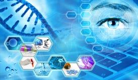 wetenschappelijk onderzoekconcept vector illustratie