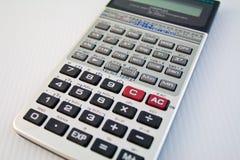 Wetenschappelijke calculator Royalty-vrije Stock Fotografie