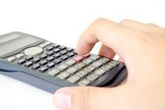 Wetenschappelijke calculator Royalty-vrije Stock Afbeeldingen