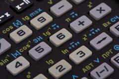 Wetenschappelijke calculator royalty-vrije stock afbeelding