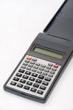 Wetenschappelijke calculator op de witte achtergrond Royalty-vrije Stock Afbeeldingen