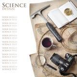Wetenschappelijke expeditie Stock Foto's