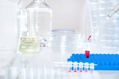 Wetenschappelijke of medische steekproef Stock Foto
