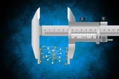 Wetenschappelijke metrologie Royalty-vrije Stock Afbeelding