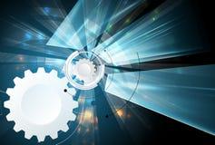 Wetenschappelijke Toekomstige Technologie Voor Bedrijfspresentatie Stock Afbeelding