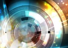 Wetenschappelijke Toekomstige Technologie Voor Bedrijfspresentatie Stock Foto's