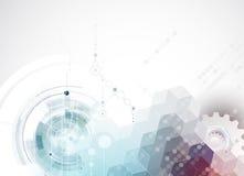 Wetenschappelijke Toekomstige Technologie Voor Bedrijfspresentatie Stock Fotografie