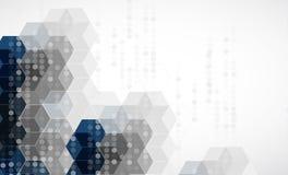 Wetenschappelijke Toekomstige Technologie Voor Bedrijfspresentatie Royalty-vrije Stock Afbeelding