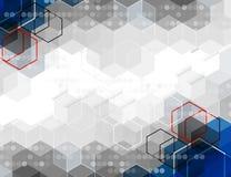 Wetenschappelijke Toekomstige Technologie Voor Bedrijfspresentatie Stock Afbeeldingen