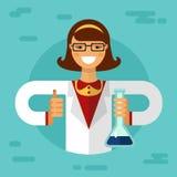 wetenschapper Stock Afbeelding