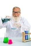 Wetenschapper in laboratorium Stock Foto's