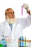 Wetenschapper in laboratorium Stock Fotografie