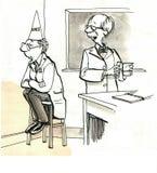 Wetenschappers stock illustratie