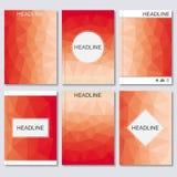 Wetenschaps vectorachtergrond Moderne vectormalplaatjes voor brochure, vlieger, dekkingstijdschrift of rapport in A4 grootte Same Vector Illustratie