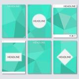 Wetenschaps vectorachtergrond Moderne vectormalplaatjes voor brochure, vlieger, dekkingstijdschrift of rapport in A4 grootte Same Stock Illustratie