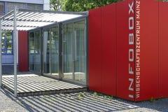 Wetenschapscentrum Mainz Stock Foto's
