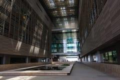 Wetenschapsgebouwen in de Koning Abdullah University van Wetenschap en Technologiecampus, Thuwal, Saudi-Arabië royalty-vrije stock fotografie