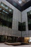Wetenschapsgebouwen in de Koning Abdullah University van Wetenschap en Technologiecampus, Thuwal, Saudi-Arabië stock foto