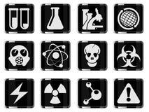 Wetenschapssymbolen Stock Fotografie