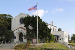 Weterana muzeum i pomnika centrum przy balboa parkiem w San Diego obraz royalty free