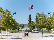 Weterani Pamiątkowy cmentarz, Fernley, Nevada fotografia stock