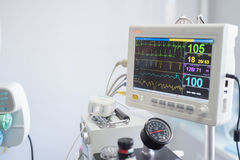Weterynaryjna anestezi maszyna Zdjęcie Royalty Free