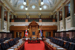 Wetgevende kamer, Brits Colombia Royalty-vrije Stock Afbeeldingen