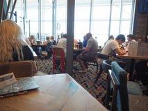Wetherspoon pub w lotnisku Obrazy Stock