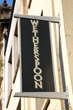 Wetherspoon sign Royalty Free Stock Image